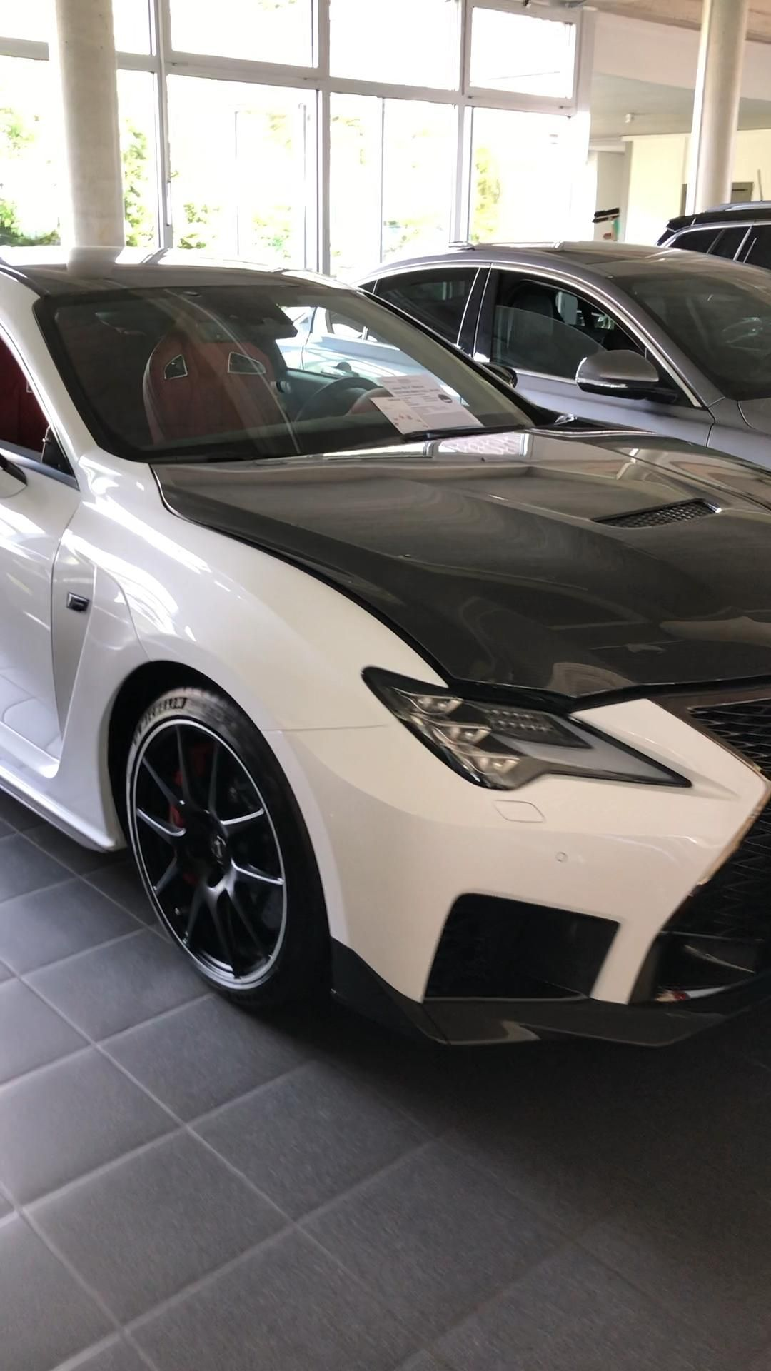 Photo of 3D scan Lexus RCF Trackedition