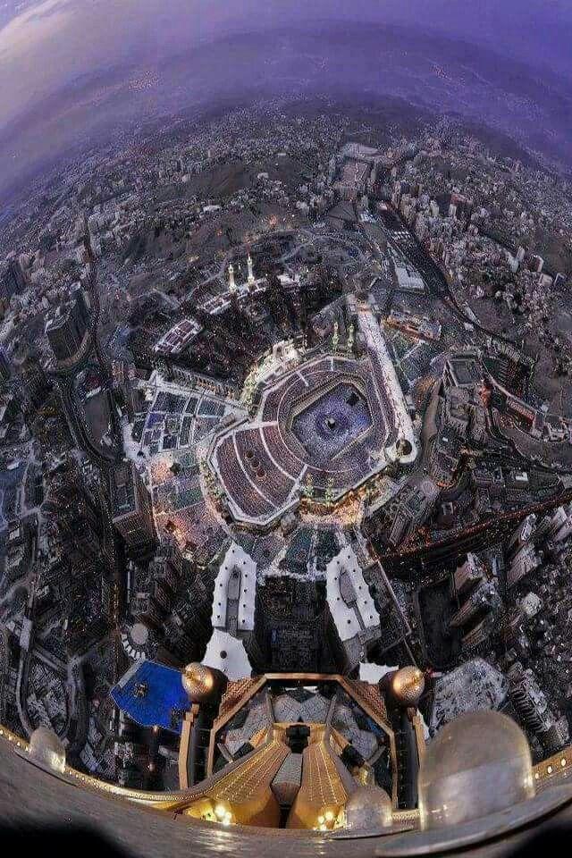 Masha Allah A Birdseye View Of Mecca Makkah Khana Kaba Kaba
