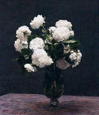 White roses henri fantin latour maestros pinterest henri white roses henri fantin latour mightylinksfo