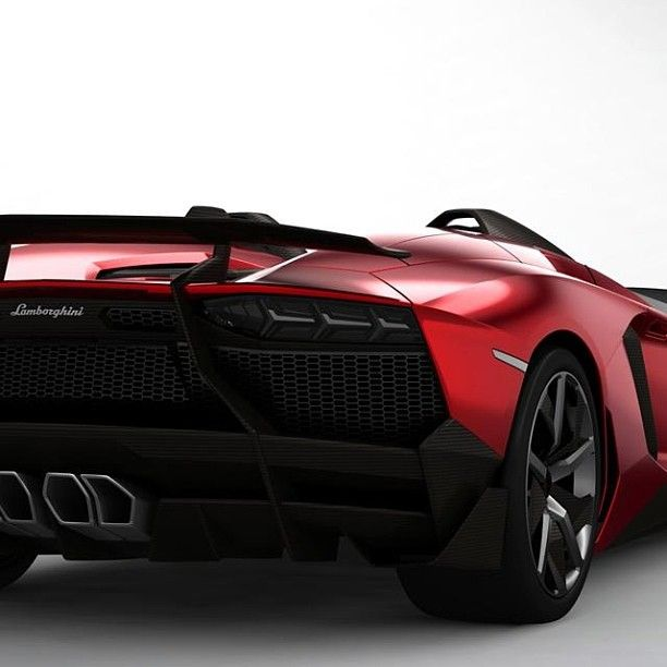 Lamborghini Aventador Backside One Of The Best Luxury Car