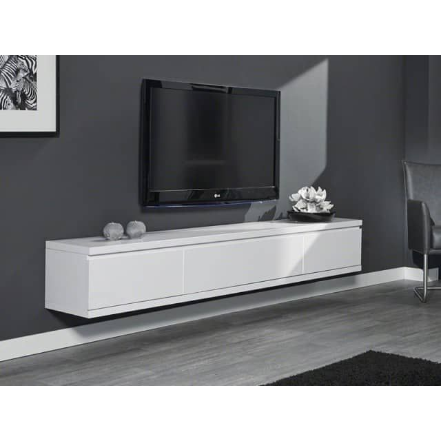 sideboard schwebend h ngeschrank wei matt lacktv und medienschrank zur individuellen. Black Bedroom Furniture Sets. Home Design Ideas