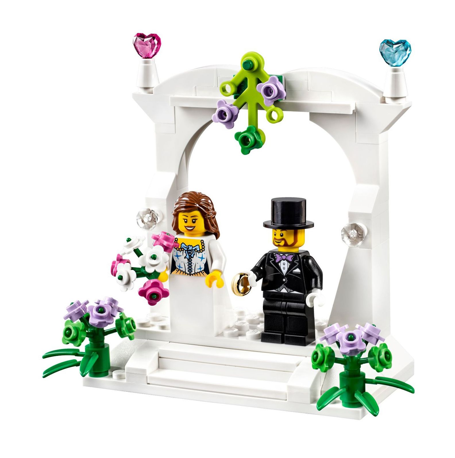 LEGO Wedding Favors Toppers 40165