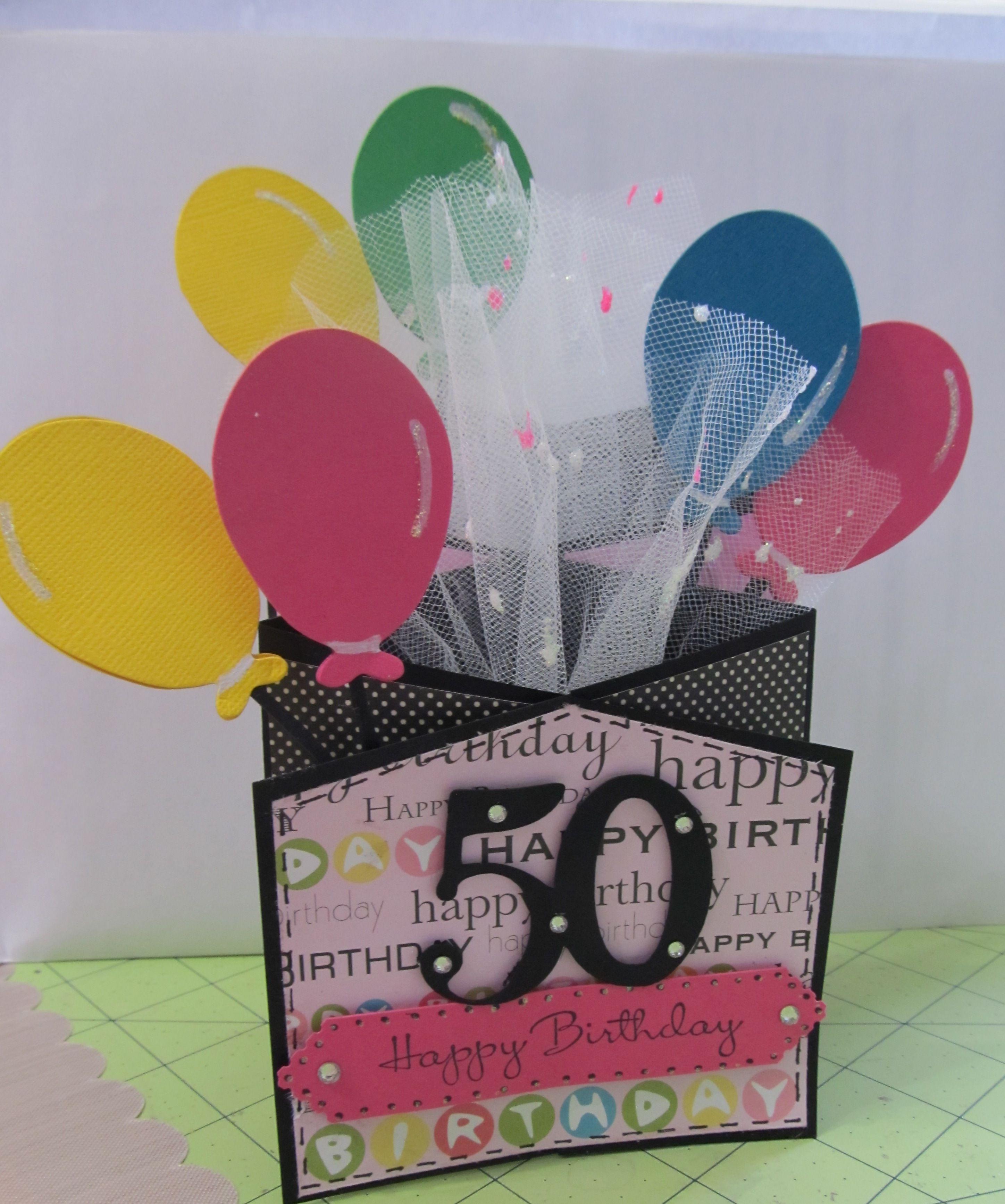 50th Birthday Card Birthday cards, 50th birthday cards