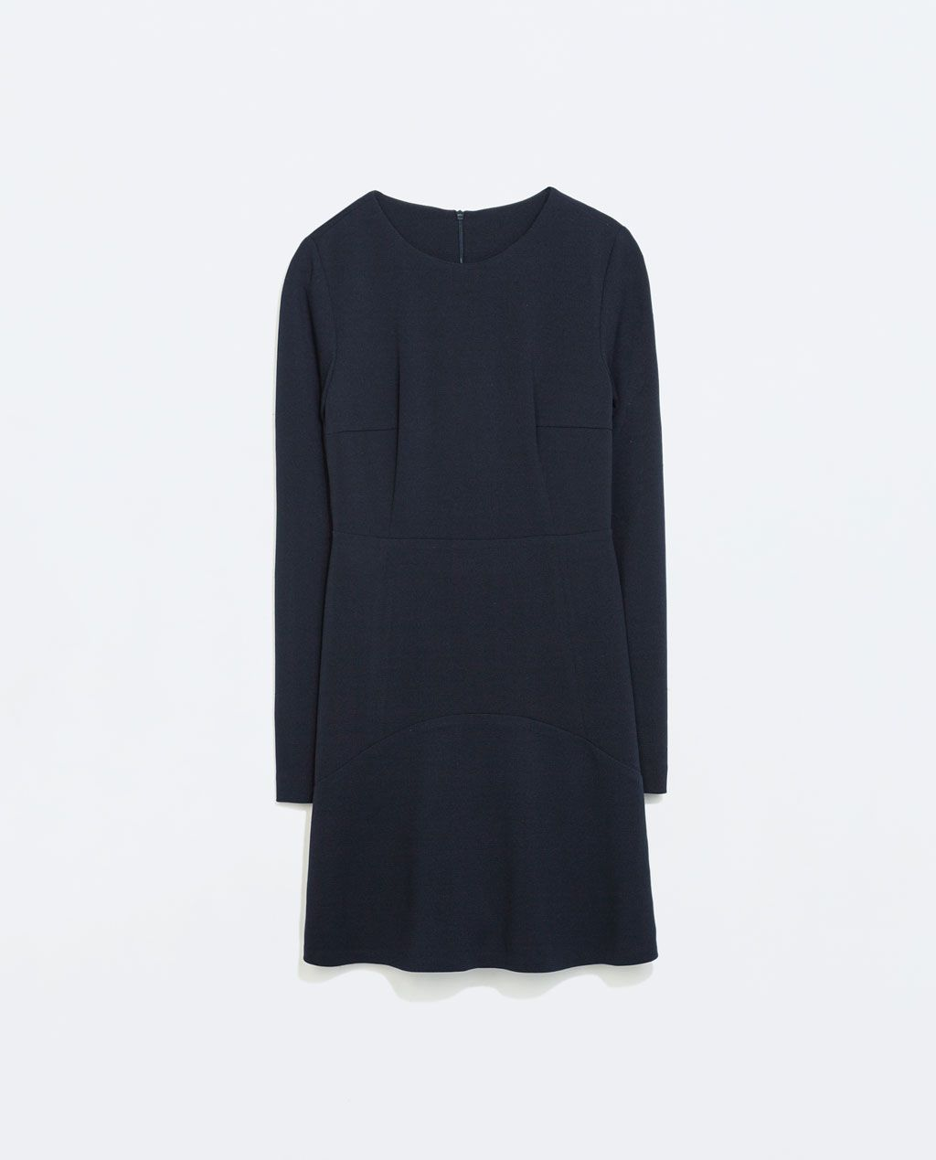 Image 6 of DRESS WITH LAYERED SKIRT from Zara