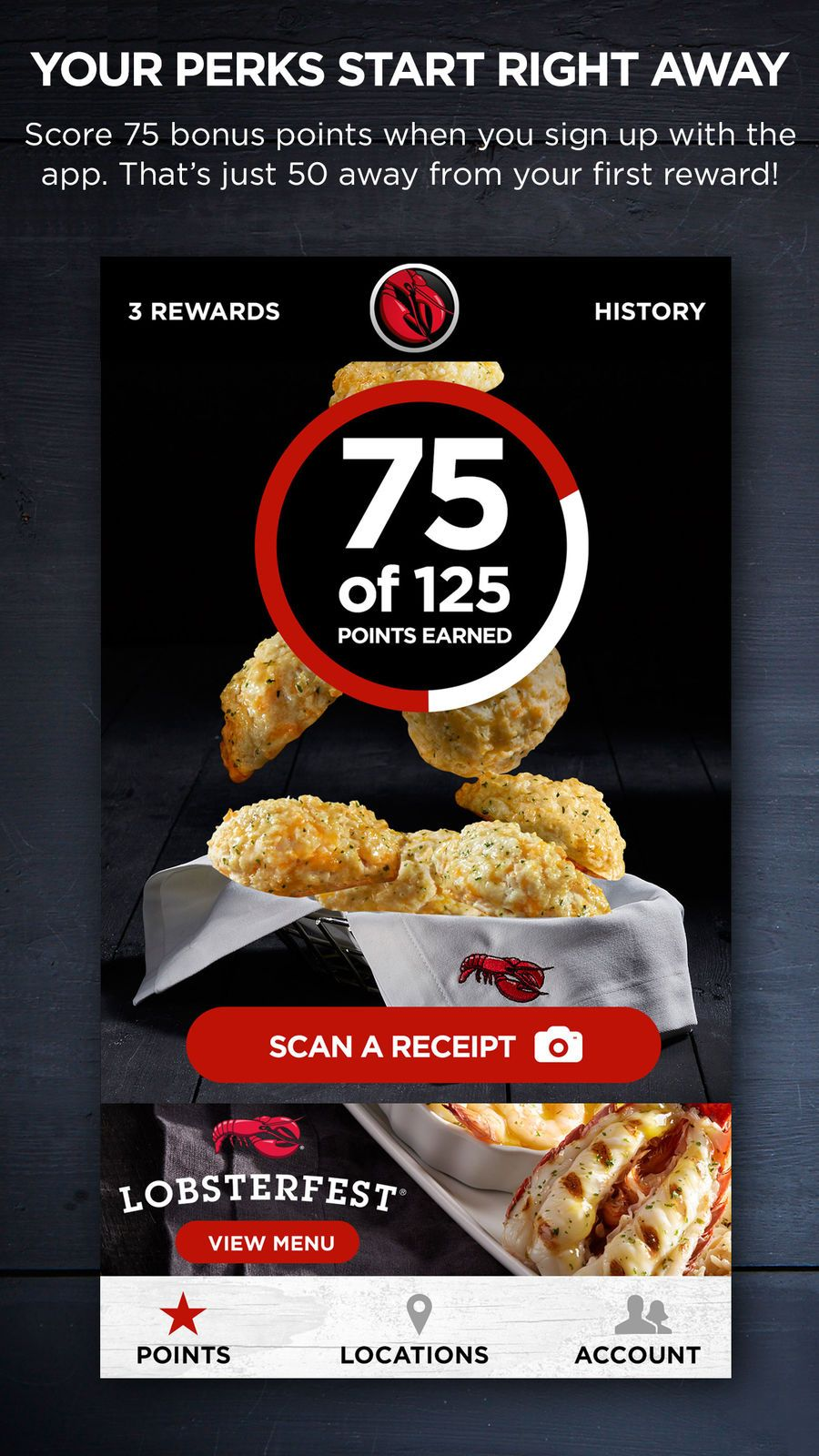 My Red Lobster Rewards? Drinkampappsios (With images
