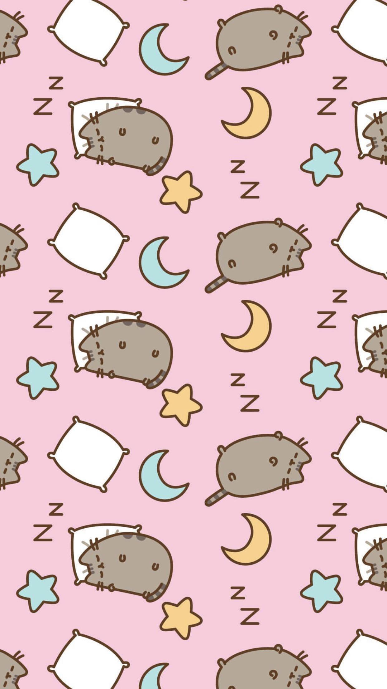 pusheen iphone wallpaper Pusheen cat, Pusheen