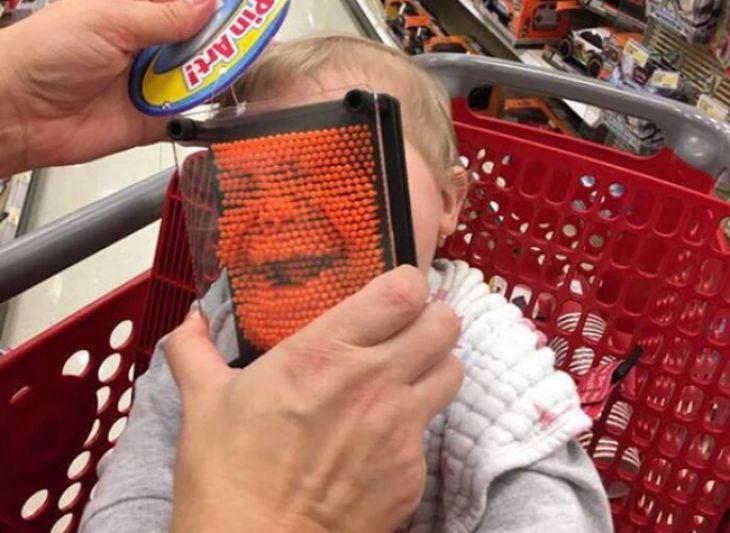 cuan creativos pueden ser los padres
