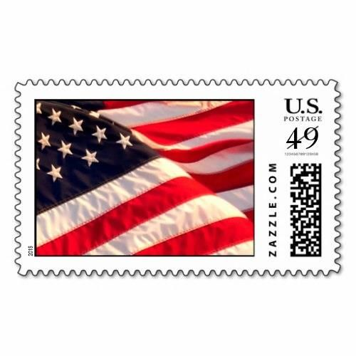 USA Flag Military Wedding Invitation Postage Stamp http://www.zazzle.com/usa_flag_military_wedding_invitation_postage_stamp-172870266870567149?rf=238756979555966366&tc=PtMPrssFmsWeddng   Custom Wedding Envelope Stamps  - Look over more artistic   Invite Postage Stamps For Weddings  from the wedding postage designer at Artistic Postage. American Flag Postage Stamp - Long May It Wave -  Military Wedding Invitation Postage Stamp  See all of TDSwhite's flag designs in the  Patriotic Stam..