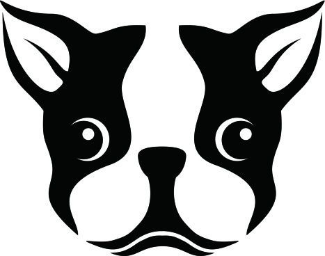 boston terrier silhouette stencil clipart free cricut silhouette rh pinterest com Boston Terrier Silhouette Cute Boston Terriers