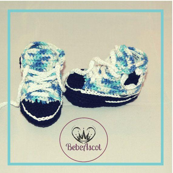 Crochet Converse shoes