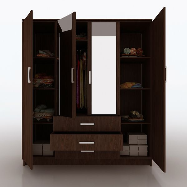Small Bedroom Cupboard Ideas With Cool Cupboard Designs: Wardrobe Furniture, Almirah Designs, Wardrobe Design