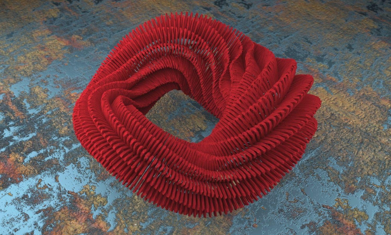 3D printed bracelet by Studioluminaire