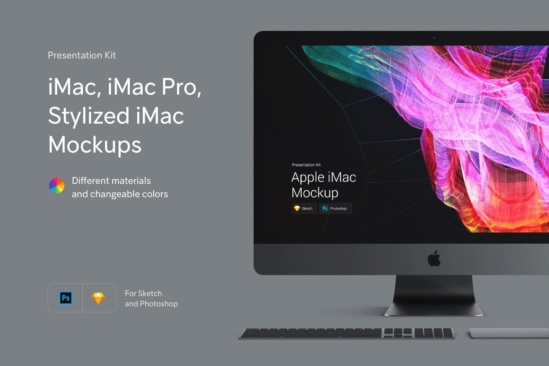 20 Apple Imac Pro Psd Mockup Templates Decolore Net Imac Psd Mockup Template Mockup Templates