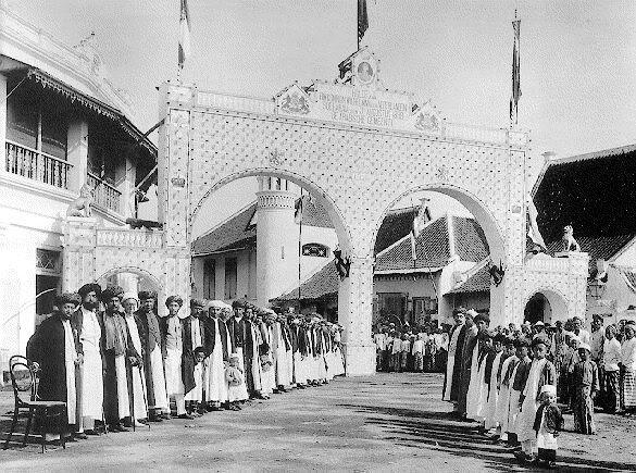 Kawasan Ampel, dikhususkan oleh pemerintah Belanda waktu itu untuk warga Timur Tengah dan Melayu (dok/surabaya tempo doeloe)