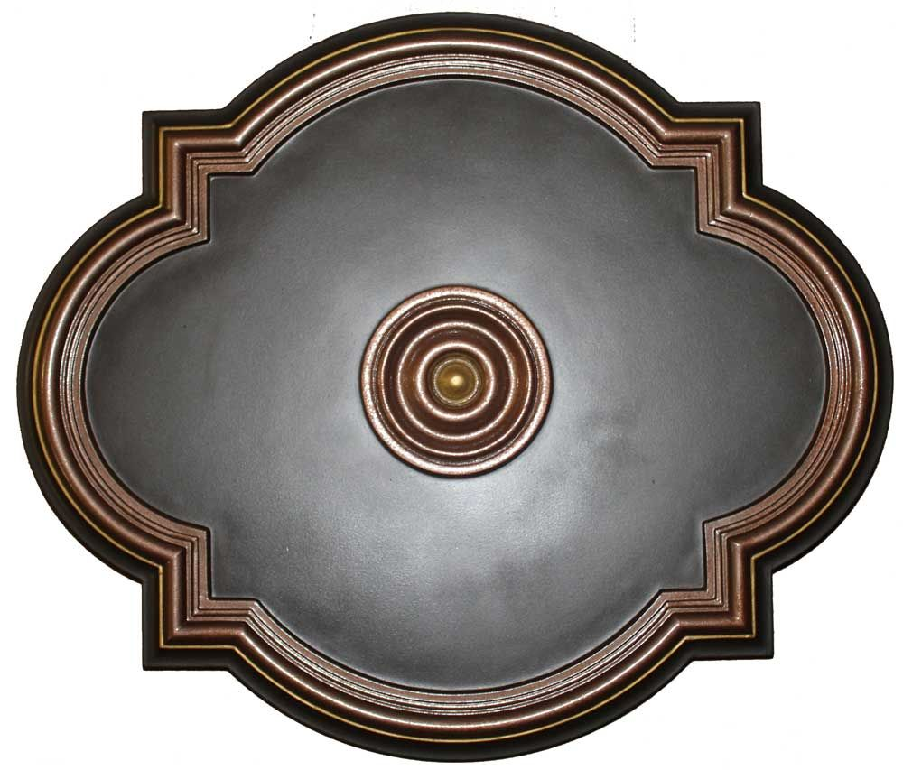 Md 7073 Oil Rubbed Bronze Ceiling Medallion