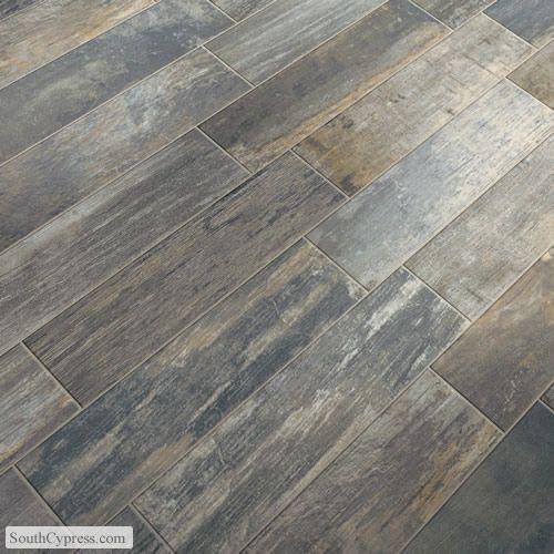 Vintage Woodlands Night Featured On The Hardwood Look Tile