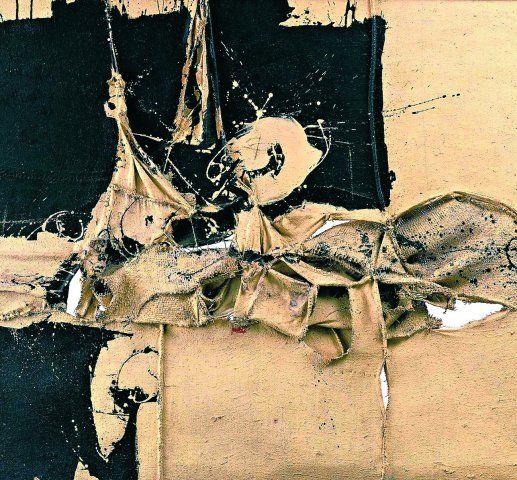 Spanish #abstract artist Manuel Millares