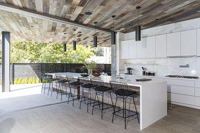 Best Outside Bar Home Indoor Outdoor Kitchen Modern Kitchen 400 x 300