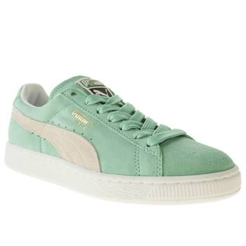 Puma Trainers Green