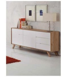 Aparador de Comedor Olga, mueble de comedor con diseño rectangular ...