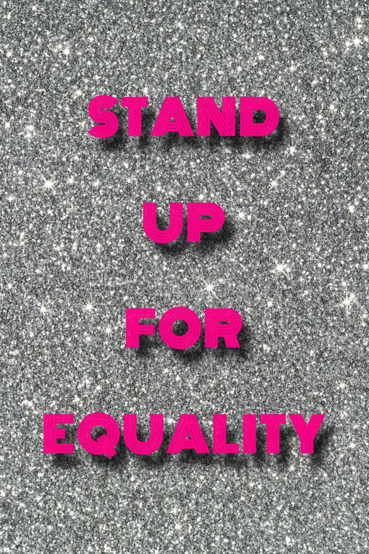 Stand Up For Equality Black Lives Matter Art Pink Photo Aesthetic Collage