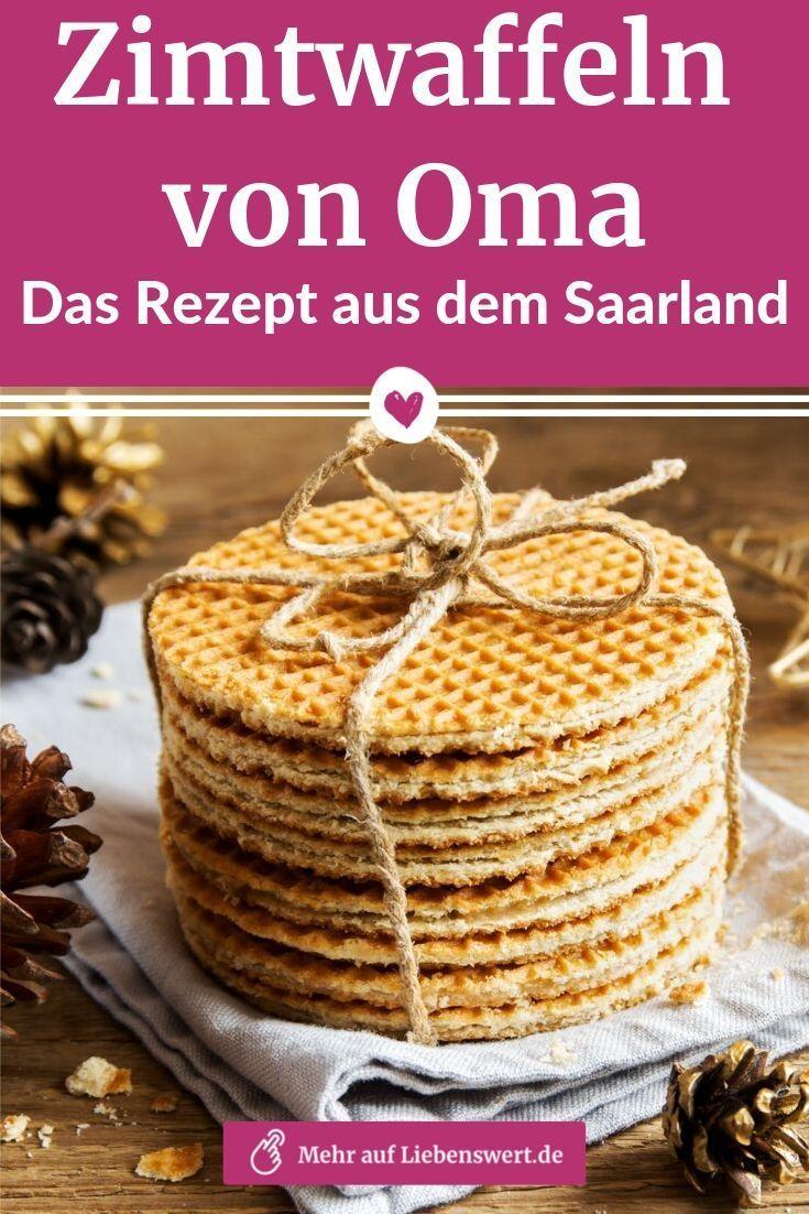 Zimtwaffeln von Oma: Das Rezept aus dem Saarland #cinnamonsugarcookies