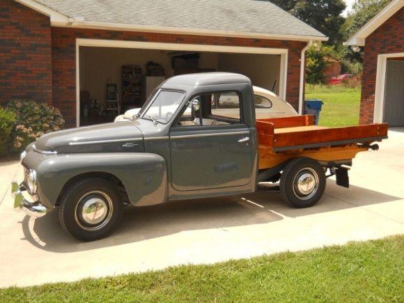 1958 volvo pv445 pick up maintenance restoration of old. Black Bedroom Furniture Sets. Home Design Ideas