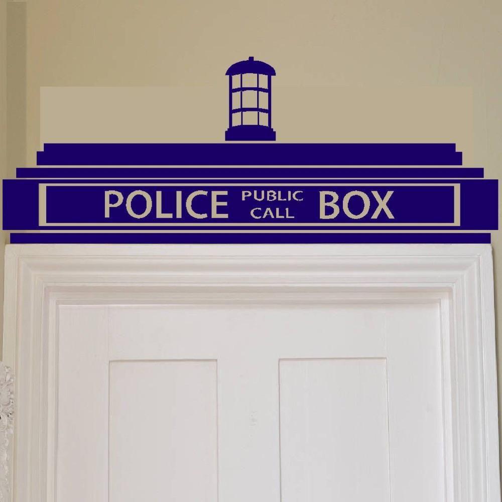 Doctor who tardis door topper vinyl wall sticker i need this doctor who tardis door topper vinyl wall sticker amipublicfo Choice Image