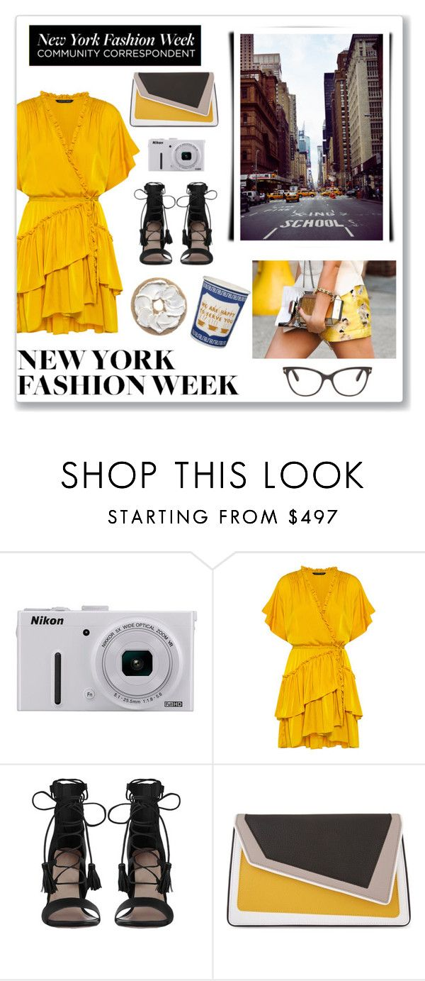 """#nyfw"" by hellodollface ❤ liked on Polyvore featuring Nikon, Marissa Webb, Zimmermann, âme moi, Tom Ford and NYFW"