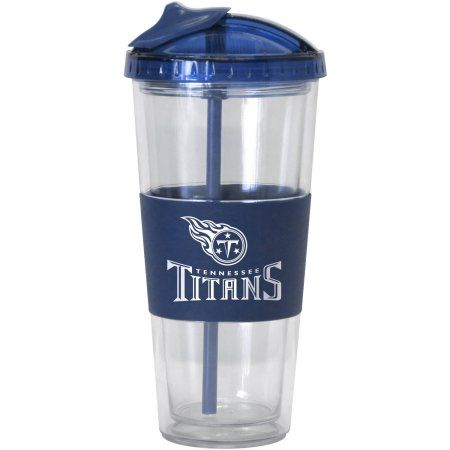 NFL Tennessee Titans 2Pk No-Spill Tumbler, Multicolor