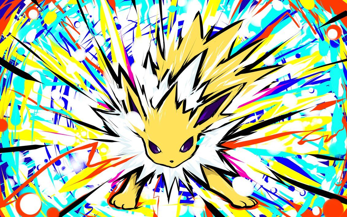 Jolteon Shock Wave Pokemon Pokemon Art Pokemon Fan Art