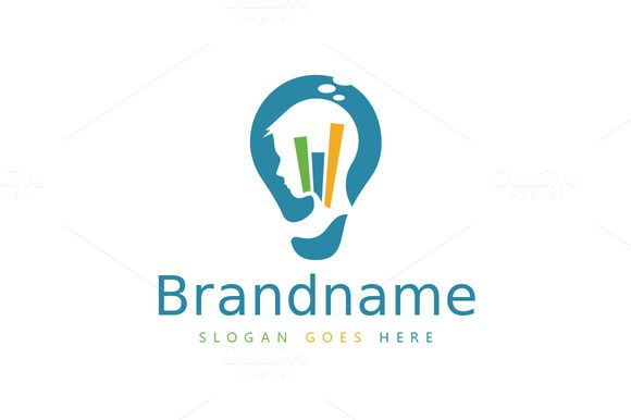 Smart Strategy Bulb Logo With Images Logo Design Template