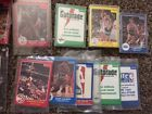Basketball Collection: Star Polybags Sealed Wax Complete Sets NO JUNK Jordan