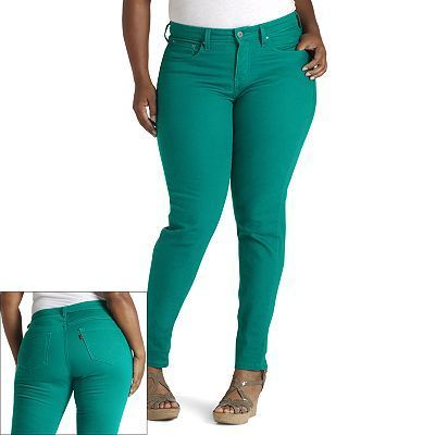 Colored Levi Jeans for Women | Levi's 512 Perfectly Slimming Color ...