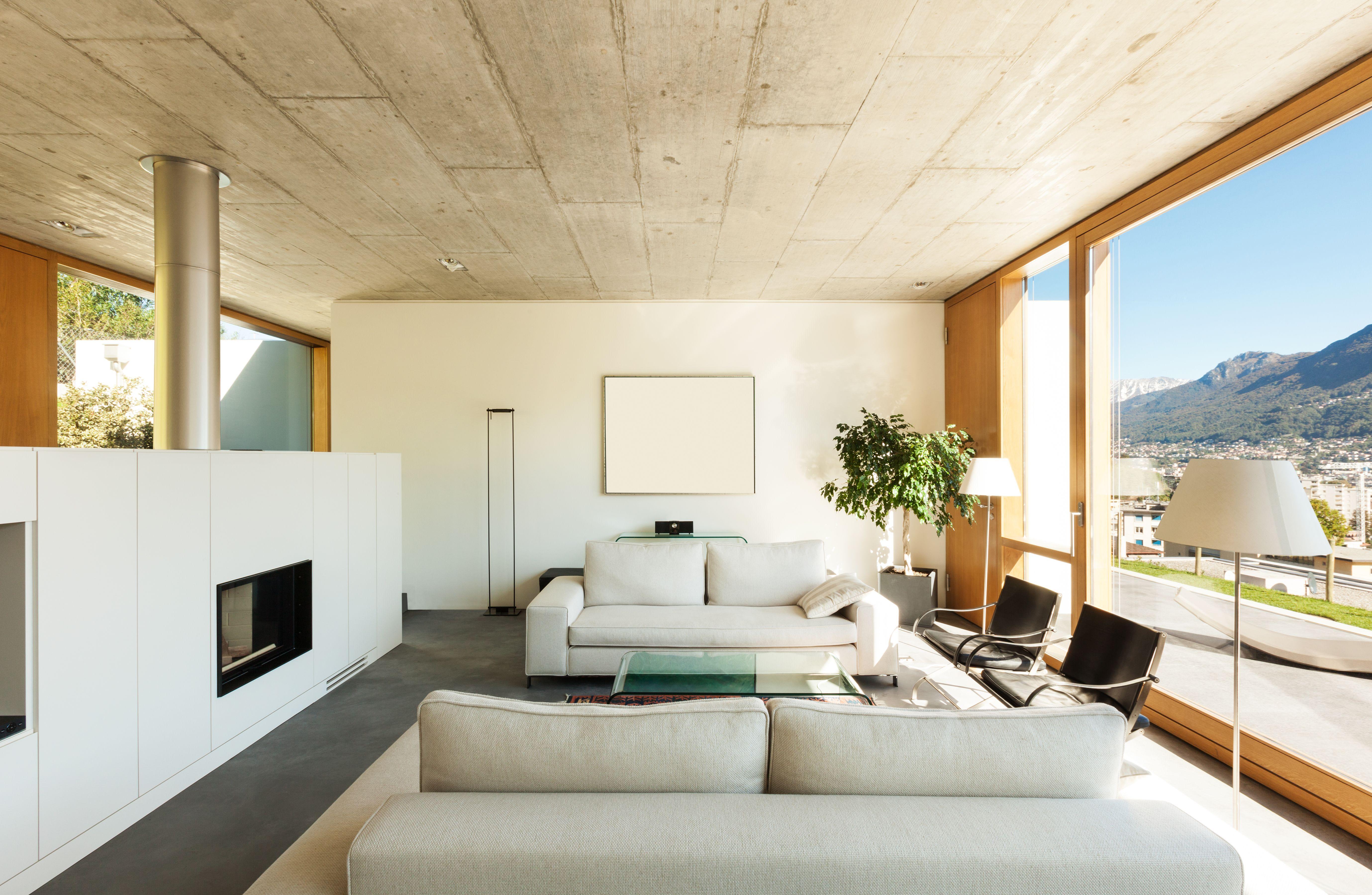 Interieur modern huis architectuur en design woningen