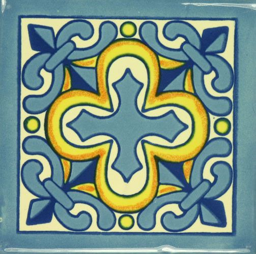 Especial (Ceramic) Mexican Tile - Cruz de Luz