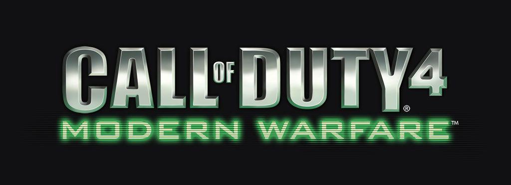 Call Of Duty 4 Modern Warfare Logo Photoshop Psd 1024 X 372 Pix Graphic Design Tutorials Photoshop Modern Warfare Logos