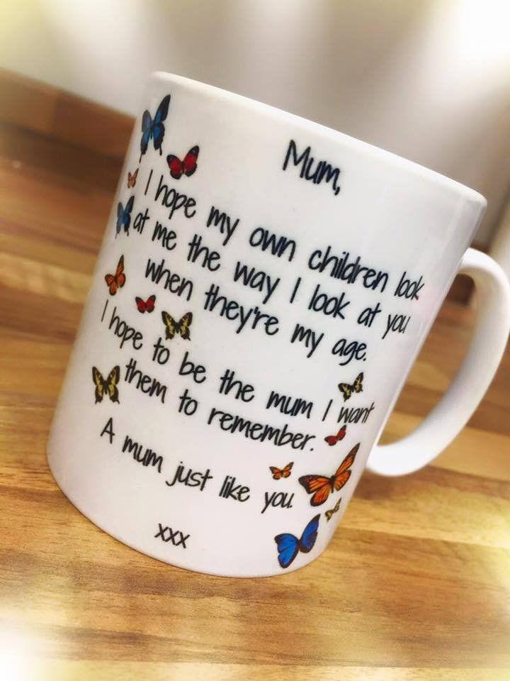 Butterfly Mum, Mug