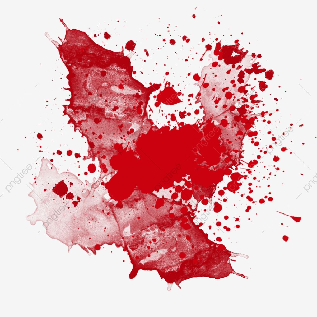 Watercolor Red Bloodstain Splashing Ink Abstract Decoration Bloodstain Png Transparent Clipart Image And Psd File For Free Download Watercolor Red Watercolor Splash Abstract