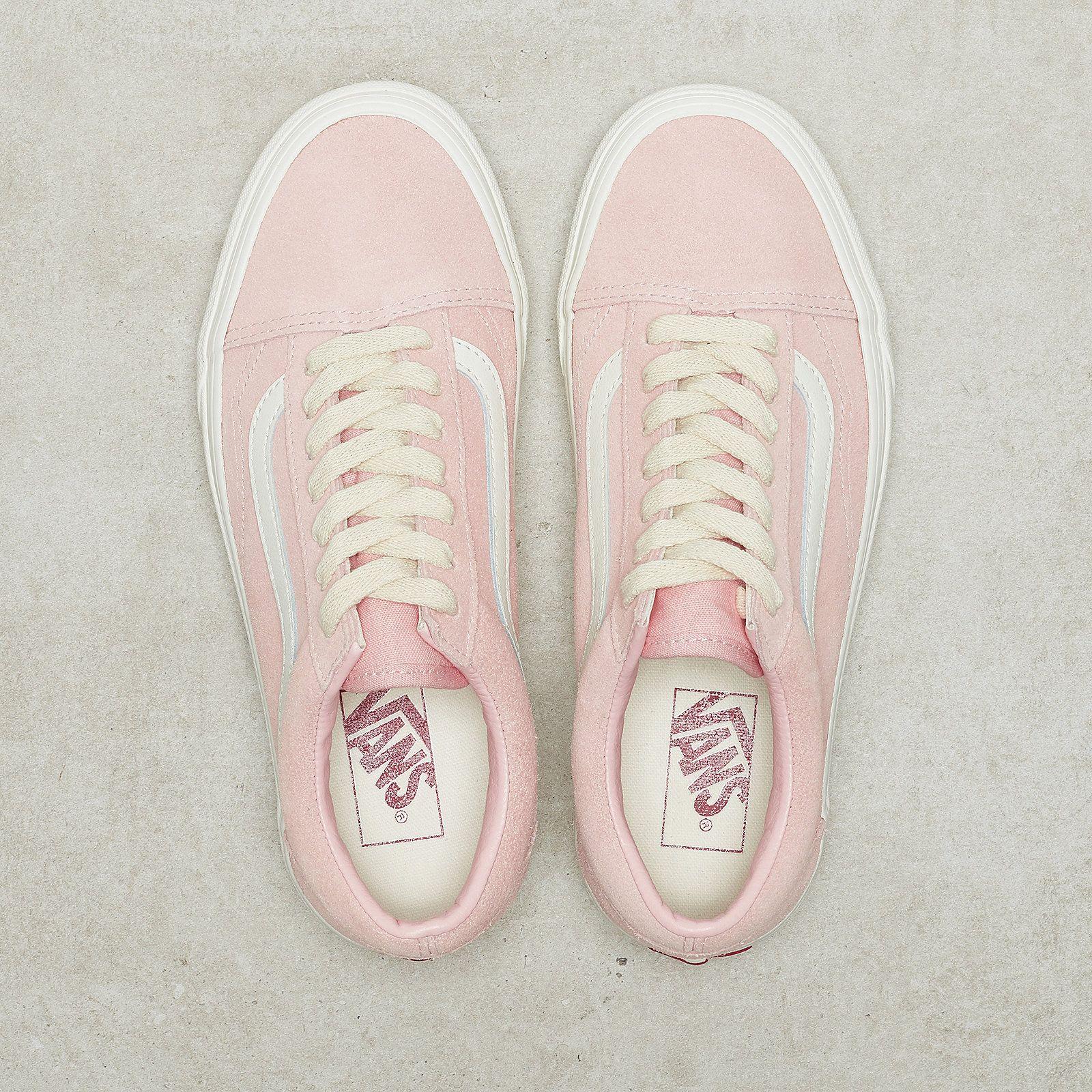 Vans Shoes Old Skool (herringbone laceenglish rosemarshmallow)