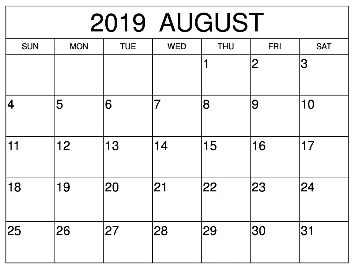 August 2019 Calendar With Holidays Philippines With Images