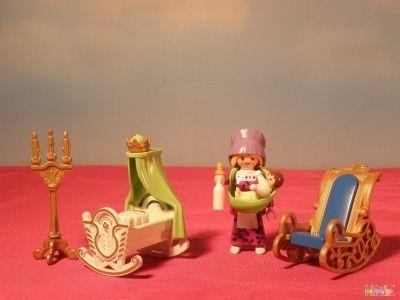 Chambre De Bébé Princesse Et Nounou PLAYMOBIL 2124 T | Playmobil ...