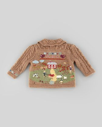 Ralph Lauren Childrenswear Knit Sampler Cardigan, Scottish Sampler ...