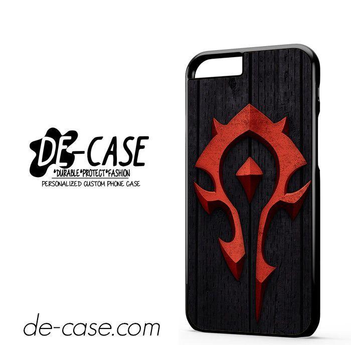 World Of Warcraft Horde Crests iphone case