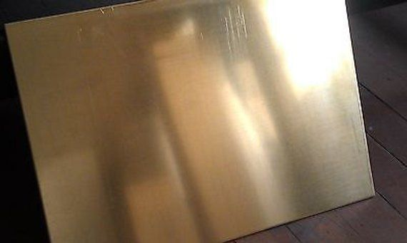 Brass Sheet 1 8 125 Thick