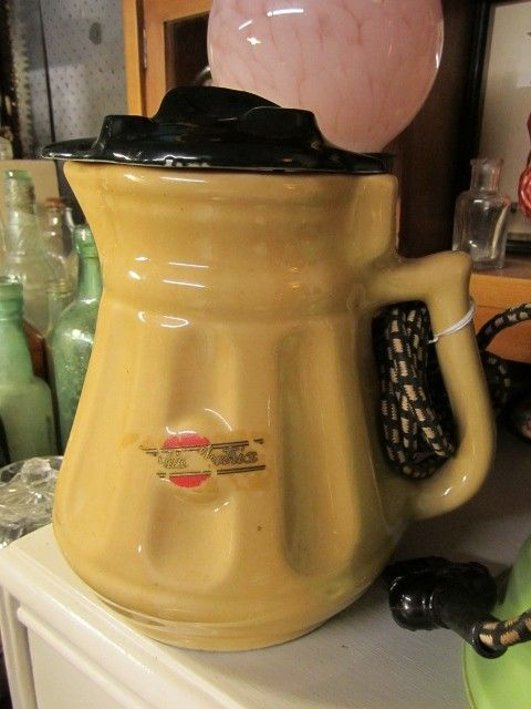 Rare Vintage Art Deco 1930s Australian Pottery Sunshine Electric Kettle Jug Vintage Jugs Vintage Pottery Vintage Ceramic