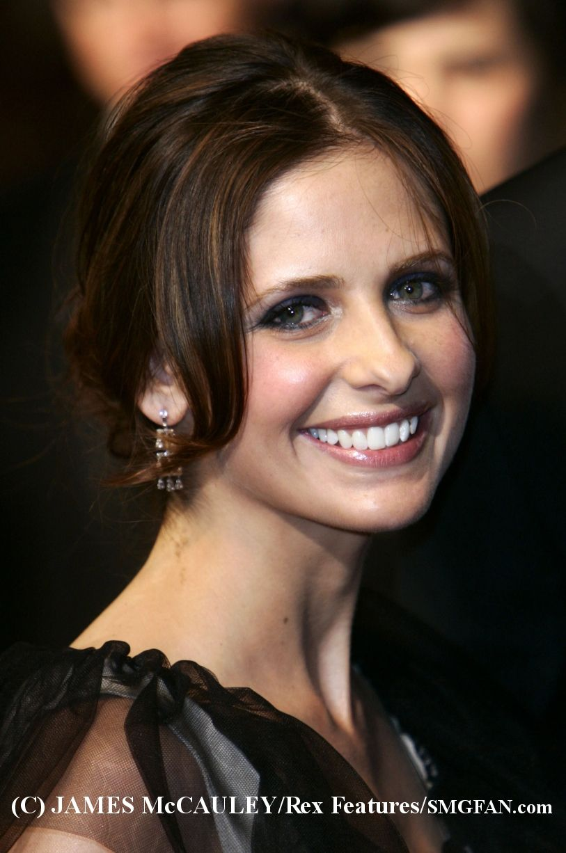 Sarah Michelle Gellar. Literally obsessed with her - she could not have been replaced and no one would have played the role of Buffy summers vampire slayer ANY better!<3<3<3<3<3