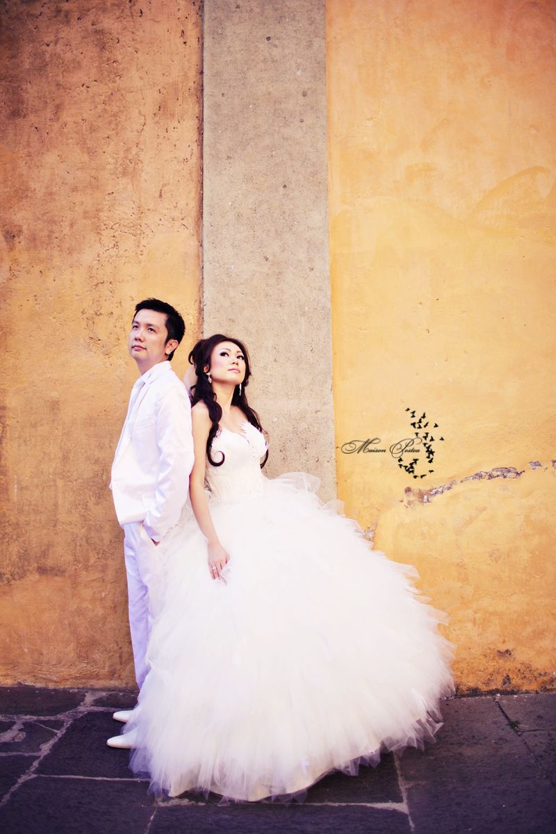 Pre wedding pictures in Rome M from