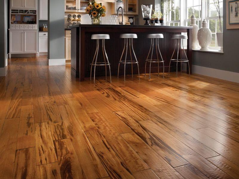 Dark Tiger Wood Flooring Real Wood Flooring Is A Good Option Of