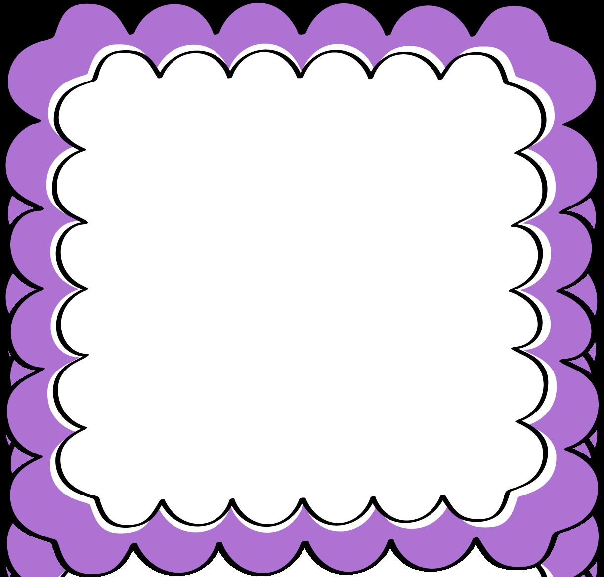 amazing clip art purple and black frame page borders design rh pinterest com purple flower border clip art purple border clip art free
